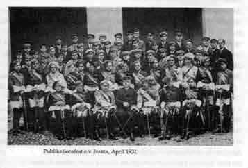 IVARIAs Publikationskommers am 25.04.1931